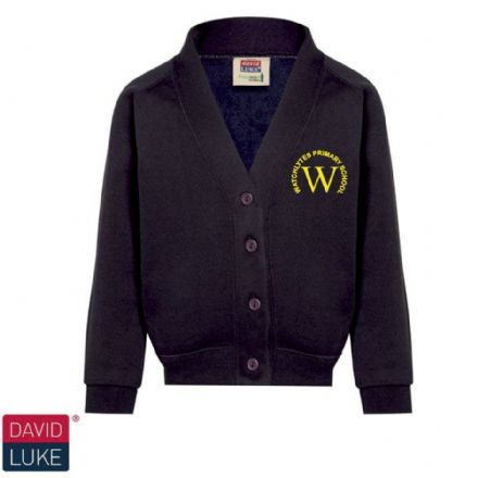 Watchlytes Primary Navy Eco  Cardigan